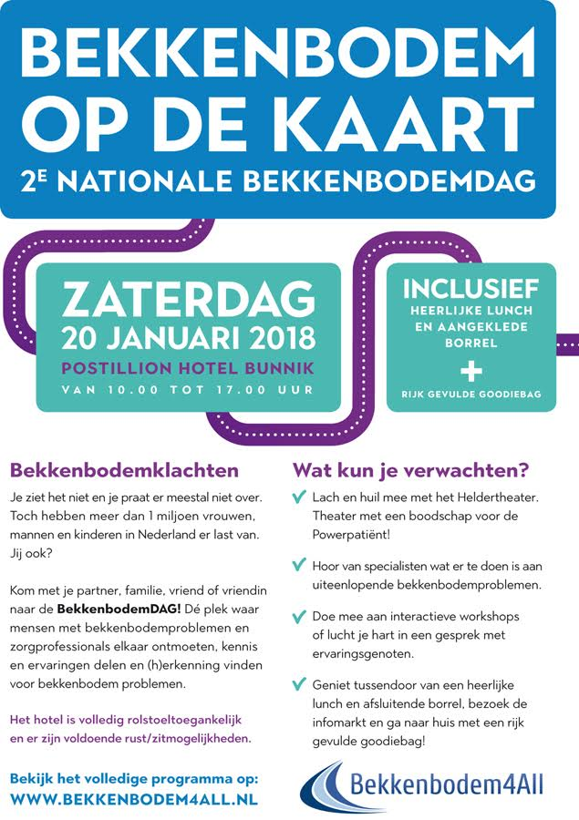 Nationale Bekkenbodemdag 2018